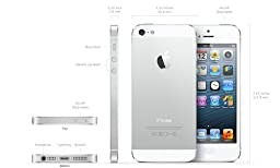 Apple iPhone 5 16GB - Unlocked - White (Certified Refurbished)