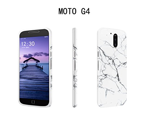 Funda Motorola Moto G4 Plus/G4 TPU Silicone Carcasa, Mosoris Mármol Suave Goma Case Ultra Delgado Flexible Gel Caso Anti-Rasguños Patrón Granito Tapa Anti Choque Amortigua Golpes Protectiva Caso Color 11
