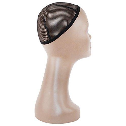 TOOGOO Mannequin stable debout en fibre de verre femelle Mannequin avec perruque portant des lunettes collier Affichage de la coiffure