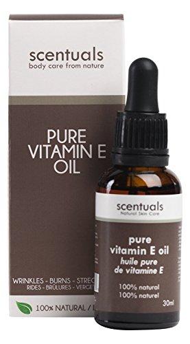 Scentuals - Pure Vitamin E Oil - 100% Natural Beauty Oil