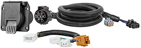 amazon.com: curt 56226 vehicle-side custom rv blade 7-pin trailer wiring  harness for select nissan frontier, pathfinder, xterra, suzuki equator:  automotive  amazon.com