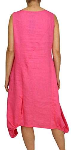 cut Vestito Basic Senza Donna maniche out Rosa Perano BZwq4x11