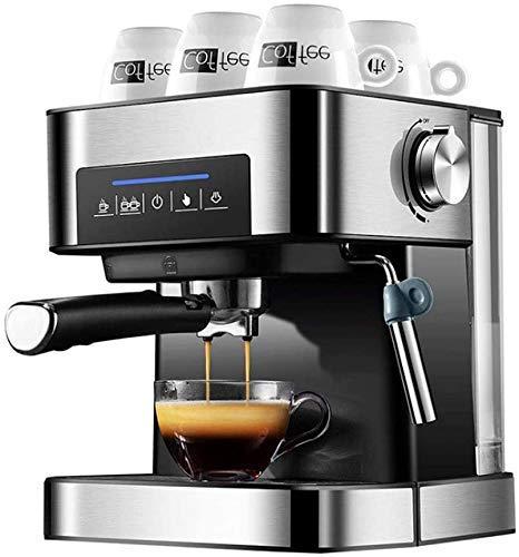 Nuokix Doméstico Máquina de café Grano a la Taza de Espresso Semi automáticas eléctricas Cafeteras Independiente de…