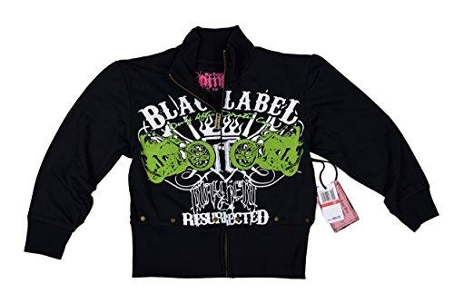ng Sleeve Sweat Shirt XS, Black (Blac Label Long Sleeve)