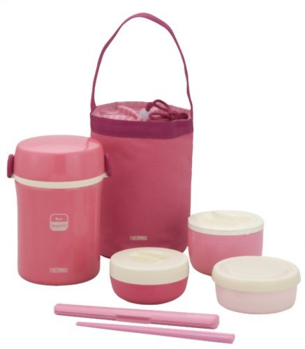 Thermos Hot Lunch Box Pink by Thermos