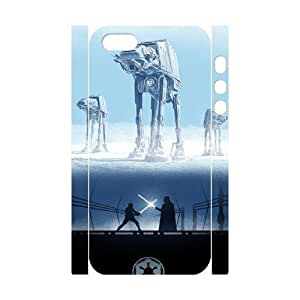 TOSOUL Cell phone Protection Cover 3D Case Star War For Iphone 5,5S