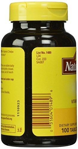 031604014896 - Nature Made Vitamin C, 1000 mg, 100 Tablets. carousel main 5