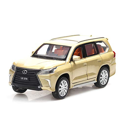 ZIETNAL Diecasts & Toy Vehicles - Lexus LX570/NX200t Simulation Toy Car Model Alloy Pull Back ldren Toys Genuine License Collection Gift Off-Road Vehicle 1 PCs