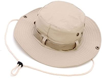 Keross Wide Brim Sun Boonie Hat Summer Bucket Caps Perfect for Camping Fishing Safari Hiking Outdoor Activity UV Protection