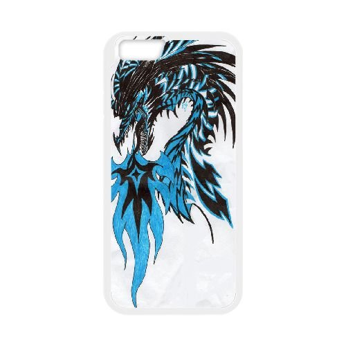 Dragon Tribal 012 coque iPhone 6 4.7 Inch Housse Blanc téléphone portable couverture de cas coque EOKXLLNCD19433