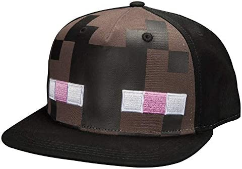 Minecraft Enderman Snapback Nero