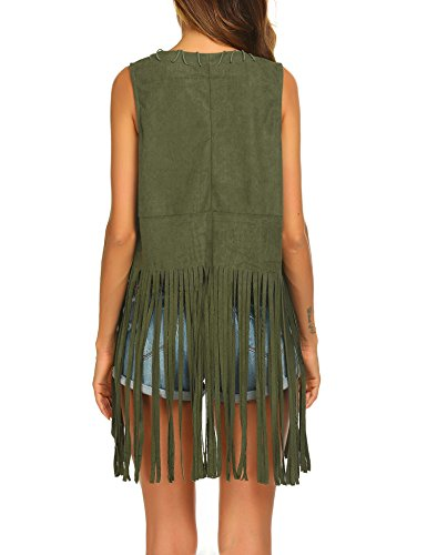 Buy crochet vest with fringe