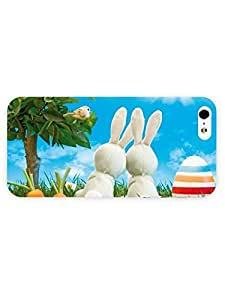 iPhone 5&5S case - Holiday - Easter Bunnies35 3D Full Wrap for iPhone Case
