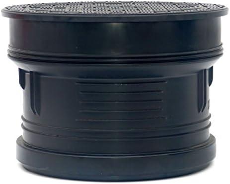 Schachtabdeckung Schachtdeckel DN400 A15 Wasserdicht Geruchverschluss Kunstoff Rund Voll PS400