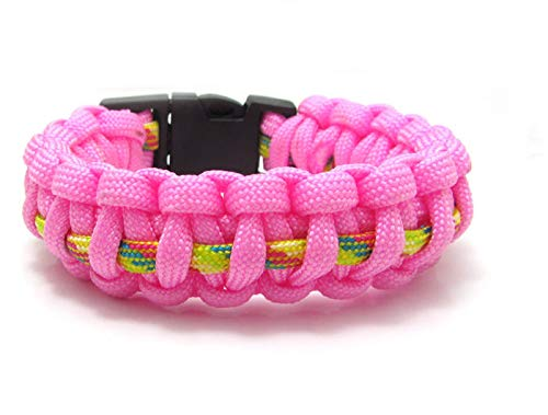 New 1pcs Paracord Parachute Rope Bracelet Wristband Survival Camping Climbing #2