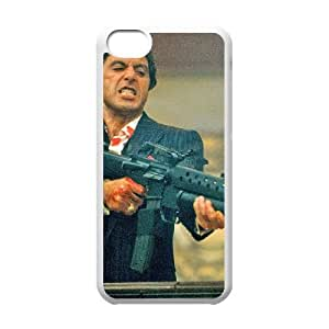 Al Pacino Scarface iPhone 5c Cell Phone Case White PhoneAccessory LSX_953405