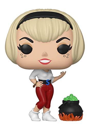 Funko! Sabrina la Bruja Adolescente Pop! Comics Sabrina with Cauldron Vinyl Figura Exclusiva de la Convencion de Verano