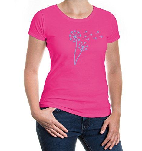 Girlie T-Shirt Blowballs Fuchsia