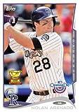 2014 Topps Opening Day #158 Nolan Arenado - Colorado Rockies (Baseball Cards)
