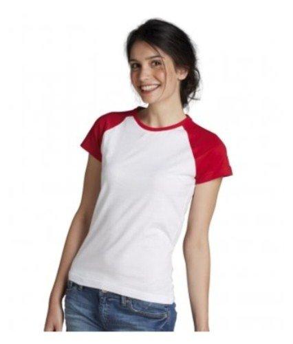 Lechoso Traje Blanco Sol's Para De shirt Contrast T Mujer Neopreno wqq8xdU1