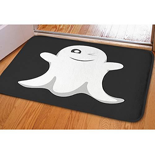 iBathRugs Door Mat Indoor Area Rugs Living Room Carpets Home Decor Rug Bedroom Floor Mats,Ghost Halloween Party Spooky Spirit ()
