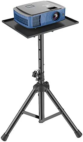 Projector Laptop Stand, Multifunctional DJ Racks Stand, Adjustable Height Tripod, Foldable Notebook Computer Stand, Perfect for Office, Home, Stage or Studio through AMADA HOMEFURNISHING