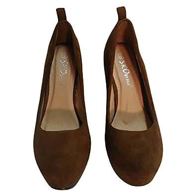 Sko A & B High Heel Shoe (Size 36) [Brown]