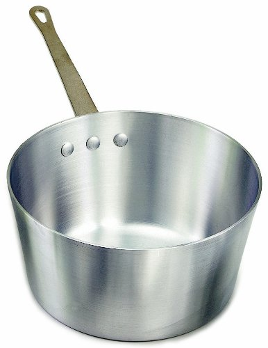 Crestware 5-1/2-Quart Heavy Gauge Aluminum Sauce - Sauce Pot Heavyweight Aluminum