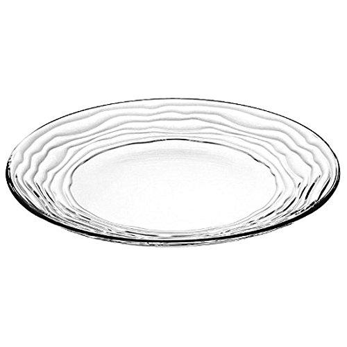 Barski - European Glass - Salad - Dessert - Plate - Artistically Designed - 8
