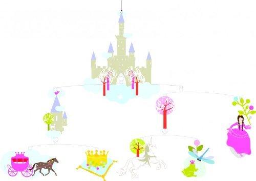 史上最も激安 Djeco Dream A Princess's Dream Mobile Princess's Mobile [並行輸入品] B01K1UPCHY, エコラボリーショップ:d520afd4 --- clubavenue.eu