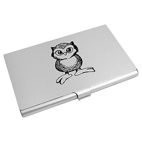 Holder Card 'Cute Azeeda Credit Owl' Wallet Business CH00010751 Card CwIwdqtB