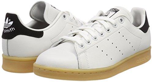 White Smith Femme 0 rose Blanc Stan core Adidas Crystal Black White rose Baskets 4Rp5z