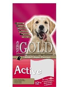 Pienso de alta energía para perros NeroGold Active 12 kg.
