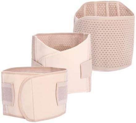3 in 1 Supporto Postpartum Recupero Ventre Cintura Bacino Cintura Shapewear Cinture da Donna,M DZWJ Fascia Post Parto Recupero