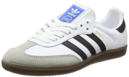 adidas Samba Og, Scarpe da Ginnastica Basse Unisex – Adulto Bianco (Footwear White/Core Black/Clear Granite)