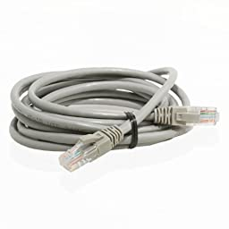 Mediabridge Ethernet Cable (100 Feet) - Supports Cat6 / Cat5e / Cat5 Standards, 550MHz, 10Gbps - RJ45 Computer Networking Cord (Part# 31-199-100B )