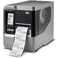 TSC 99-051A001-00LF Series MX240 Industrial Thermal Transfer Bar Code Printer, 203 dpi Resolution, Color LCD Touch Display, 256 MB SRAM, 128 MB Flash SD Card Slot, Ethernet/USB/RS-232 Port