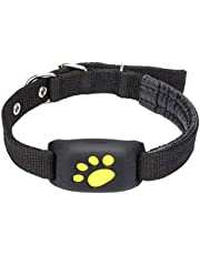 RiamxwR Dog GPS Pet Tracker Real-Time Tracking Collar Device APP Control Activity Monitor No Monthly Fee GPS Dog Tracker Locator Pet Collar