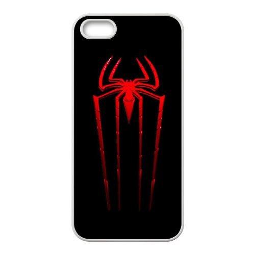 Pictures Of Spiderman 008 coque iPhone 4 4S Housse Blanc téléphone portable couverture de cas coque EEEXLKNBC18755