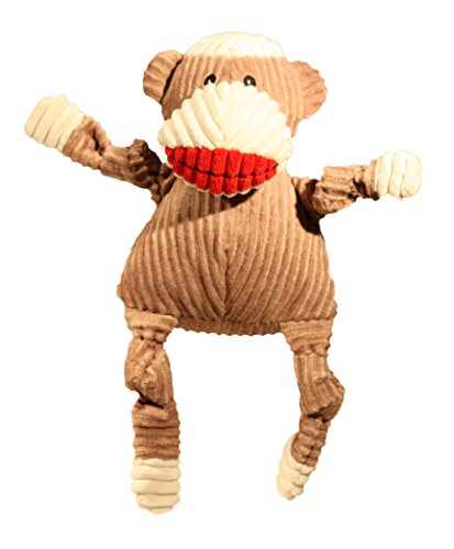 HuggleHounds Corduroy Durable Monkey Knottie product image