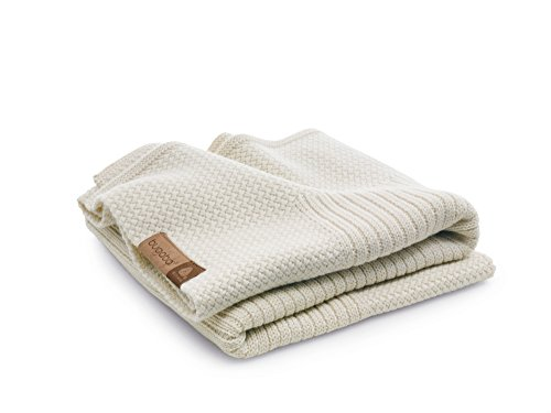 Bugaboo Soft Wool Blanket, Off-White Melange by Bugaboo