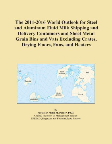Grain Bin Fans - The 2011-2016 World Outlook for Steel and Aluminum Fluid Milk Shipping and Delivery Containers and Sheet Metal Grain Bins and Vats Excluding Crates, Drying Floors, Fans, and Heaters