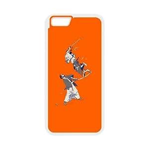 iPhone 6 Plus 5.5 Inch Cell Phone Case White Samurai Fight SUX_081258