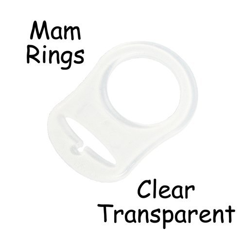 25 MAM Ring Button Style Pacifier Adapter by I Craft for Less   B006135Y7O