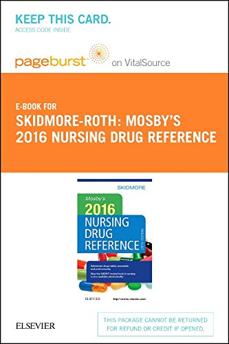 Price comparison product image Mosby's 2016 Nursing Drug Reference - Elsevier eBook on VitalSource (Retail Access Card),  29e (SKIDMORE NURSING DRUG REFERENCE)