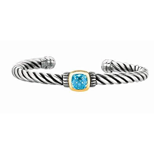 Argent Sterling 7,5 pouces Bracelet JewelryWeb 18 carats