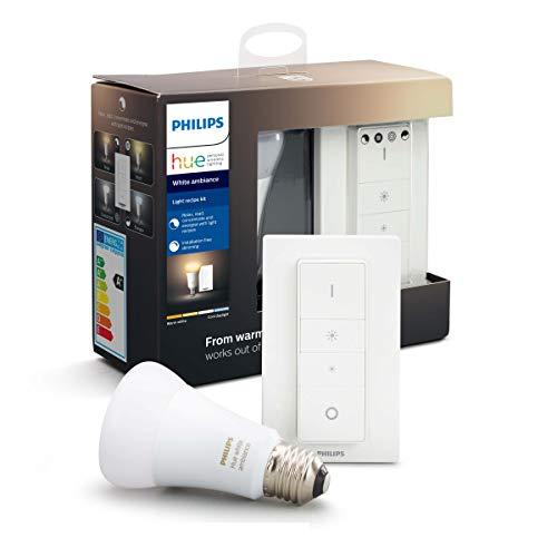Philips Hue Light Recipe Kit – E27 – Duurzame LED Verlichting – Warm tot Koelwit Licht – Dimbaar – Verbind met Bluetooth…