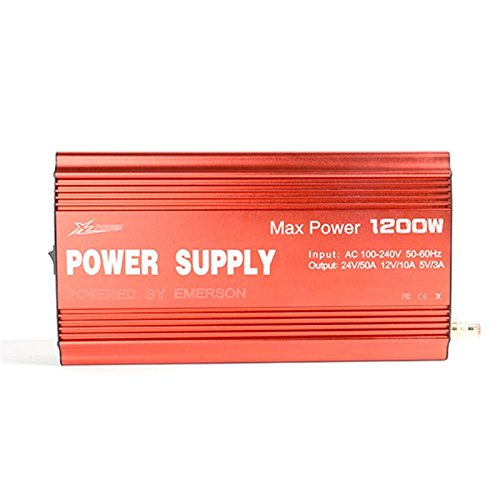 Quickbuying XL Power 24V 50A 1200W Charger Power Supply For PL8 PL6 308 4010 Battery Charger by RC accessories (Image #5)'