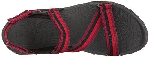 Merrell Dames All Out Brand Web Sandalen Trekking & Wandelschoenen Rood (rode Biet)