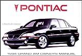 1994 Pontiac Grand Am SE & GT Original Owner's Manual